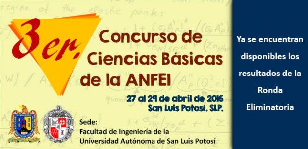 3er. Concurso de Ciencias Básicas de la ANFEI