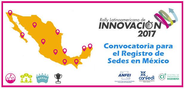 Convocatoria para Sedes del Rally Latinoamericano de Innovación 2017