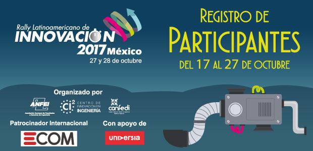 Registro de Participantes del Rally Latinoamericano de Innovación 2017