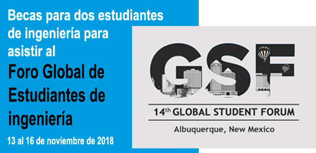 Becas para asistir al Foro Global de Estudiantes de Ingeniería de SPEED 2018