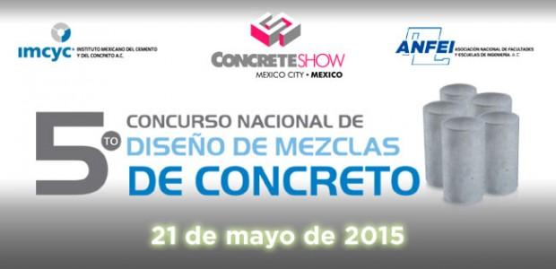 5to Consurso Nacional de Diseño de Mezclas de Concreto