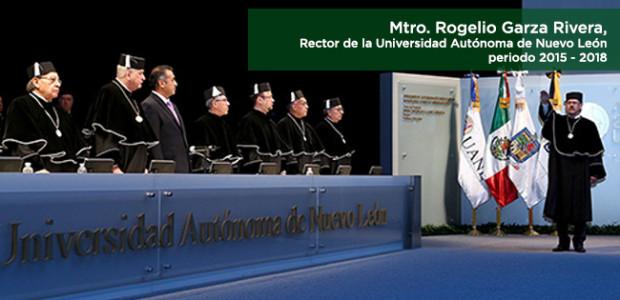 Asume Rogelio Garza Rivera como Rector de la UANL