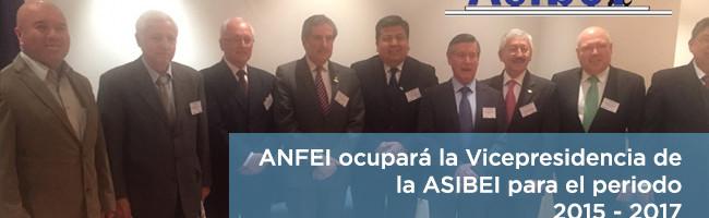 La ANFEI ocupa la Vicepresidencia de la ASIBEI