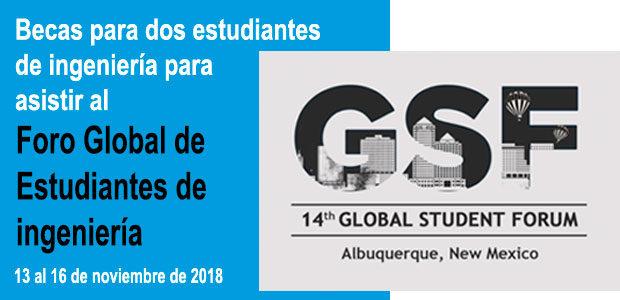 Becas para asistir al Foro Global de Estudiantes de Ingeniería de SPEED 2018
