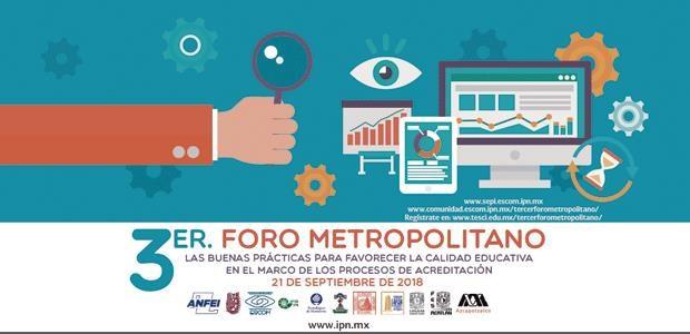 3er Foro Metropolitano