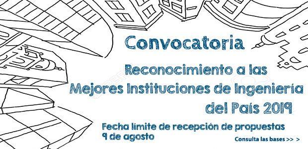 Convocatoria «Reconocimiento a las Mejores Instituciones de Ingeniería del País 2019″»