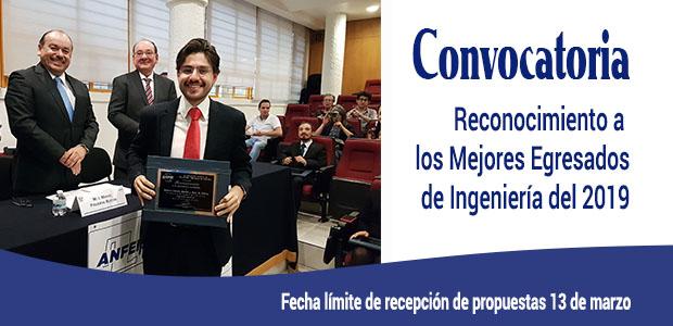 Convocatoria «Reconocimiento a los Mejores Egresados de Ingeniería del País del 2019»