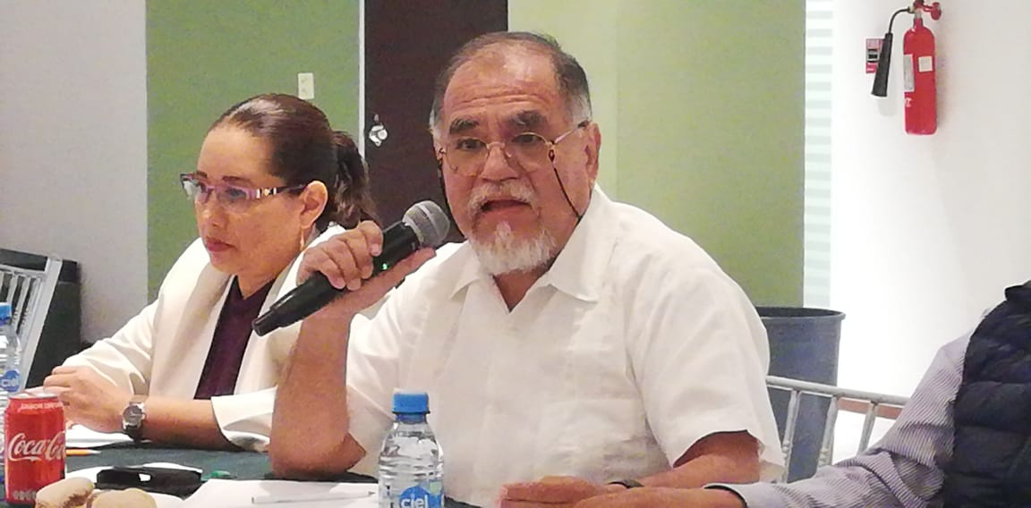 El Mtro. Carlos Rodríguez Pérez presenta avances de la Región VIII.