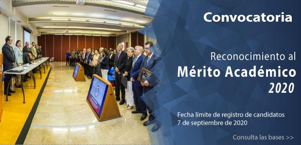 Convocatoria «Reconocimiento al Mérito Académico 2020»