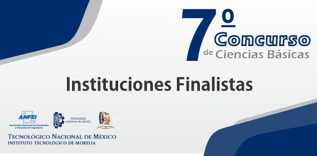 Finalistas del 7o. Concurso de Ciencias Básicas de la ANFEI