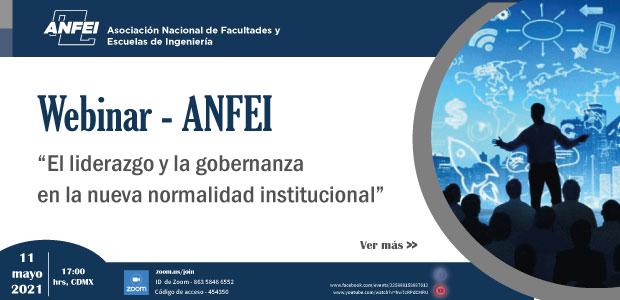 Webinar ANFEI – El liderazgo y la gobernanza en la nueva normalidad institucional